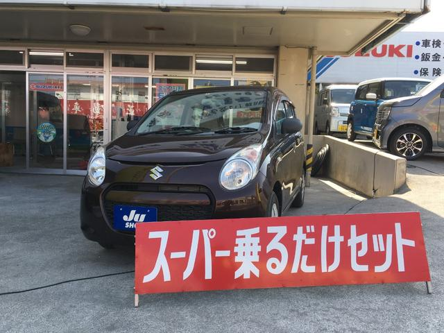 沖縄の中古車 スズキ アルト 車両価格 39万円 リ済込 2011(平成23)年 2.8万km ブラウン