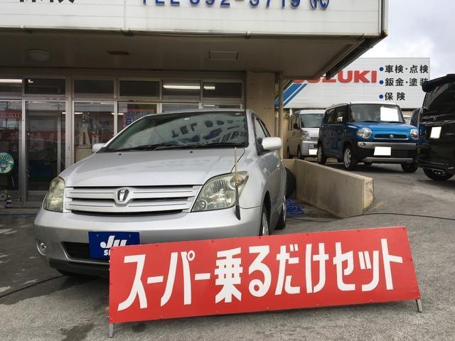 沖縄の中古車 トヨタ イスト 車両価格 44万円 リ済込 2004(平成16)年 8.5万km シルバー