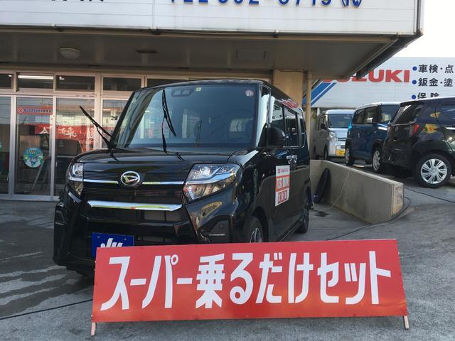 沖縄県宜野湾市の中古車ならタント カスタムX