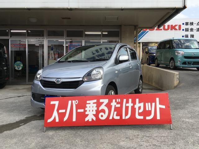 沖縄の中古車 ダイハツ ミライース 車両価格 34万円 リ済込 2015(平成27)年 12.0万km ブライトシルバーメタリック