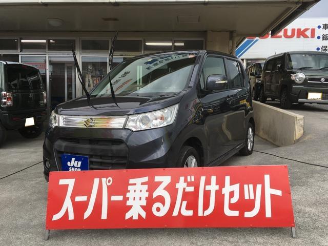 沖縄の中古車 スズキ ワゴンRスティングレー 車両価格 79万円 リ済込 2014(平成26)年 5.0万km グレー