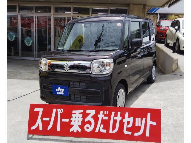 沖縄の中古車 スズキ スペーシア 車両価格 149.6万円 リ未 新車  アーバンブラウン