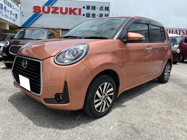 沖縄の中古車 ダイハツ ブーン 車両価格 95万円 リ済込 2019(令和1)年 4.4万km ピンク