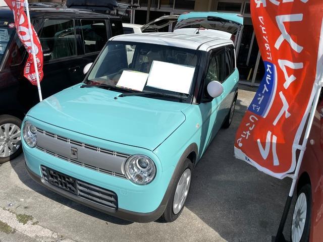 沖縄の中古車 スズキ アルトラパン 車両価格 85万円 リ済込 2016(平成28)年 2.7万km ブルー