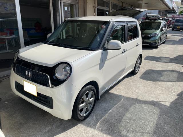 沖縄の中古車 ホンダ N-ONE 車両価格 44万円 リ済込 2012(平成24)年 9.8万km パールホワイト
