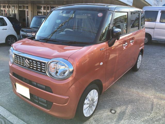 沖縄の中古車 スズキ ワゴンRスマイル 車両価格 153.3万円 リ済込 新車  オレンジ
