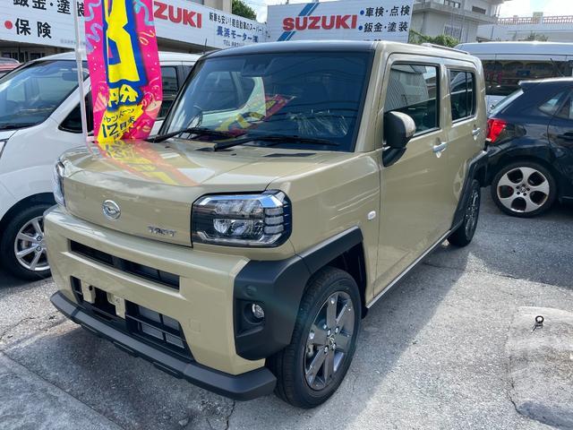 沖縄の中古車 ダイハツ タフト 車両価格 148.5万円 リ済込 新車  ベージュ