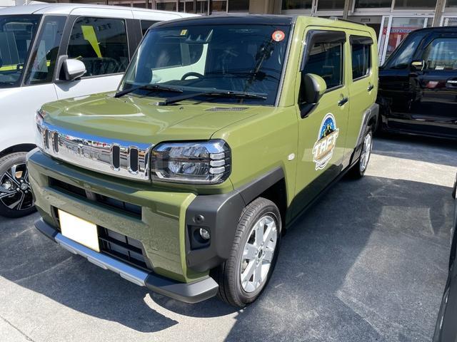 沖縄の中古車 ダイハツ タフト 車両価格 155.1万円 リ済込 新車  グリーン