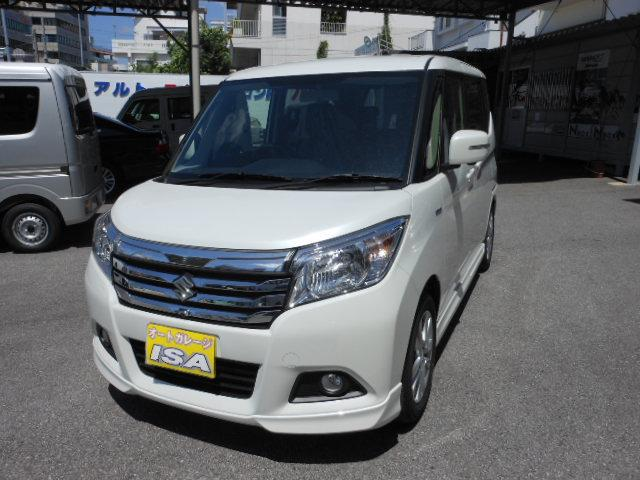 沖縄の中古車 スズキ ソリオ 車両価格 195万円 リ未 新車  パールホワイト