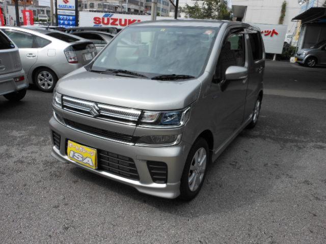 沖縄県宜野湾市の中古車ならワゴンR ハイブリッドFZ