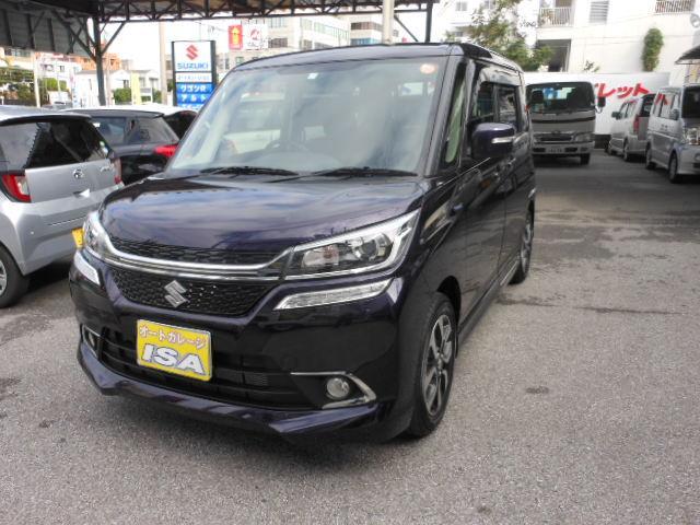 沖縄の中古車 スズキ ソリオバンディット 車両価格 194万円 リ未 新車  ダークパープルM