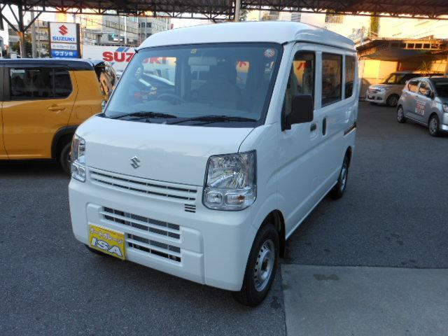 沖縄の中古車 スズキ エブリイ 車両価格 105万円 リ未 2021(令和3)年 3km ホワイトM