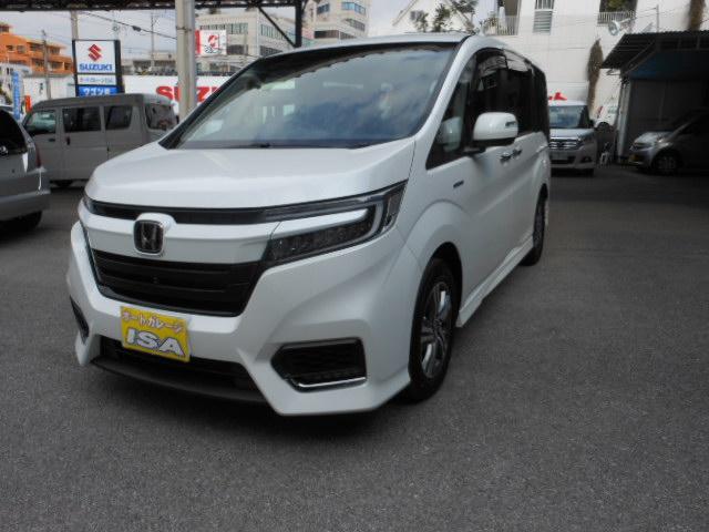 沖縄県の中古車ならステップワゴンスパーダ スパーダハイブリッド G・EX ホンダセンシング