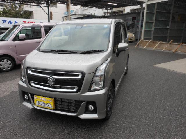 沖縄県宜野湾市の中古車ならワゴンRスティングレー ハイブリッドT