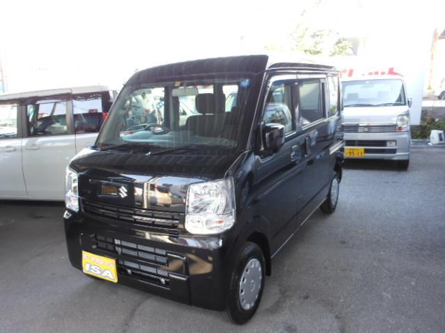 沖縄の中古車 スズキ エブリイ 車両価格 118万円 リ未 新車  ブラックM