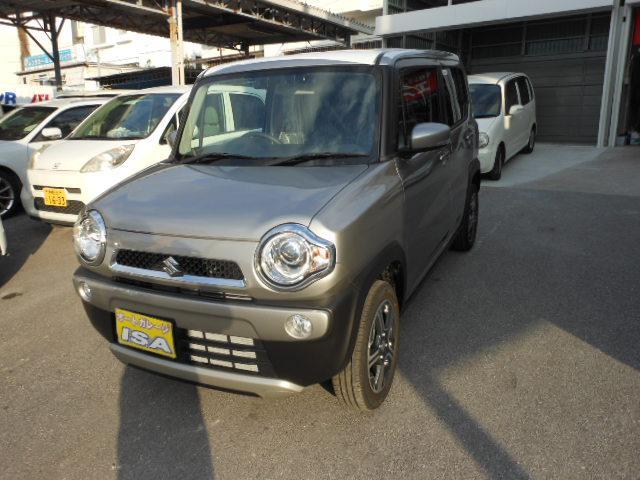 沖縄の中古車 スズキ ハスラー 車両価格 148万円 リ未 新車  シルバーM