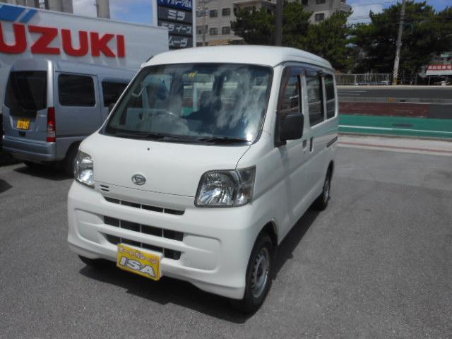 沖縄の中古車 ダイハツ ハイゼットカーゴ 車両価格 49万円 リ済込 平成20年 9.9万km ホワイト