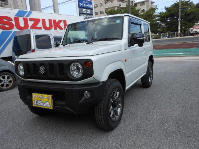 沖縄の中古車 スズキ ジムニー 車両価格 184万円 リ未 新車  パールホワイト