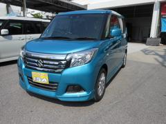 沖縄の中古車 スズキ ソリオ 車両価格 178万円 リ未 新車  ライトブルーM