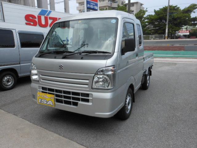沖縄の中古車 スズキ スーパーキャリイ 車両価格 105万円 リ未 2021(令和3)年 5km シルバーM