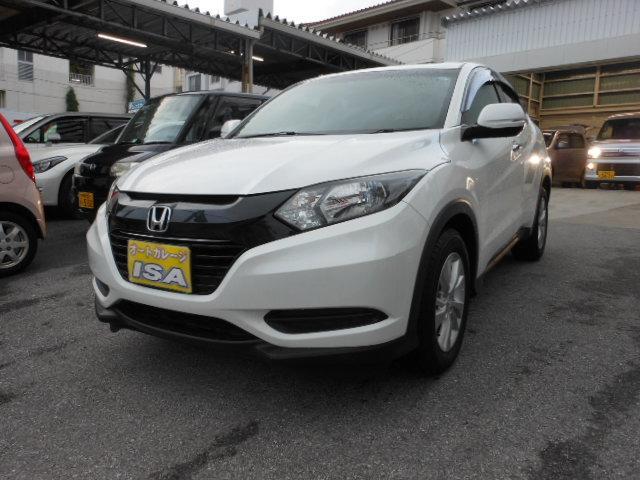 沖縄の中古車 ホンダ ヴェゼル 車両価格 179万円 リ済込 平成28年 1.5万km パールホワイト