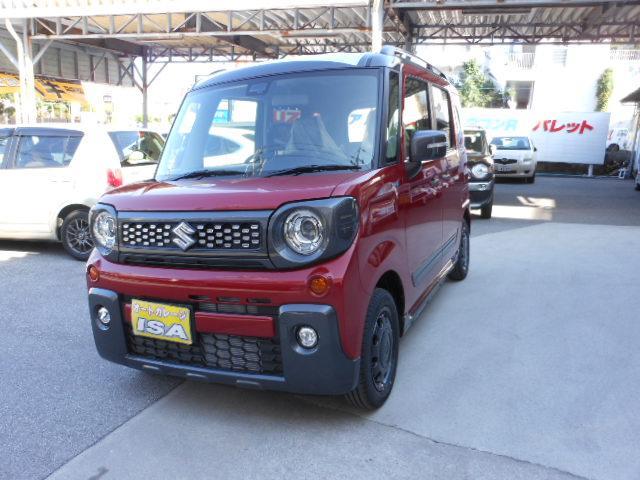 沖縄の中古車 スズキ スペーシアギア 車両価格 173万円 リ未 新車  レッドII