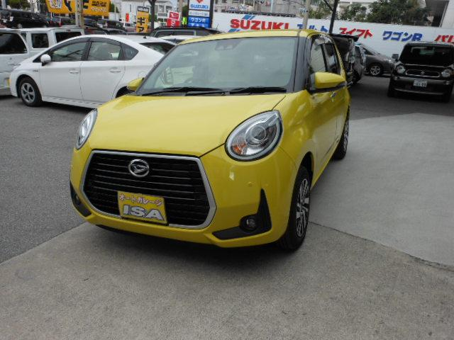 沖縄の中古車 ダイハツ ブーン 車両価格 169万円 リ未 新車  イエローM
