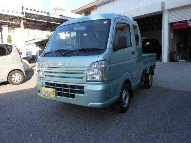 沖縄の中古車 スズキ スーパーキャリイ 車両価格 97万円 リ未 2021(令和3)年 5km LグリーンM
