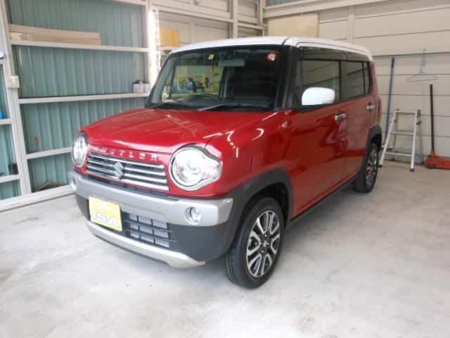 沖縄の中古車 スズキ ハスラー 車両価格 152万円 リ済別 新車  レッドII