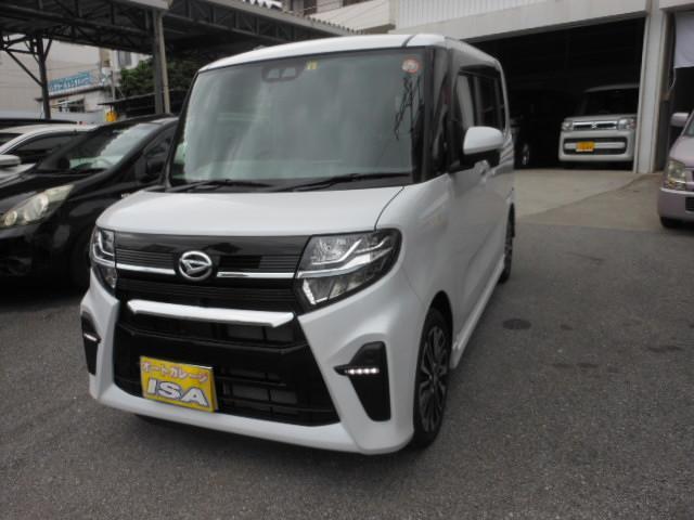 沖縄の中古車 ダイハツ タント 車両価格 178万円 リ未 新車  パールホワイト