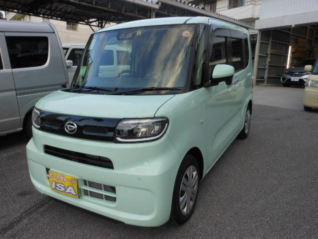 沖縄の中古車 ダイハツ タント 車両価格 158万円 リ済込 2019(令和1)年 32km LグリーンM
