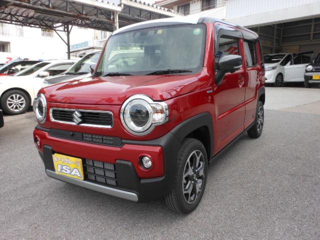 沖縄の中古車 スズキ ハスラー 車両価格 156万円 リ未 2021(令和3)年 10km レッドII