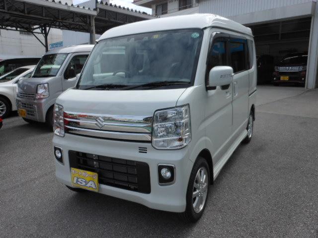 沖縄の中古車 スズキ エブリイワゴン 車両価格 175万円 リ未 2021(令和3)年 32km パールホワイト