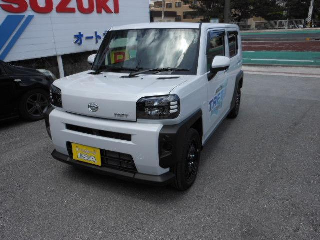 沖縄の中古車 ダイハツ タフト 車両価格 135万円 リ未 新車  パールホワイト