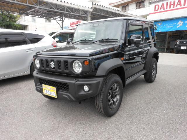 沖縄の中古車 スズキ ジムニーシエラ 車両価格 208万円 リ済別 2021(令和3)年 4km ブラックM