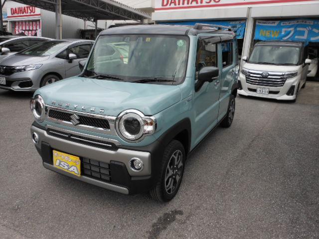 沖縄の中古車 スズキ ハスラー 車両価格 159万円 リ未 2021(令和3)年 16km ブルーII
