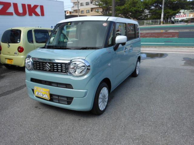 沖縄県宜野湾市の中古車ならワゴンRスマイル ハイブリッドS 2トーンルーフパッケージ装着車