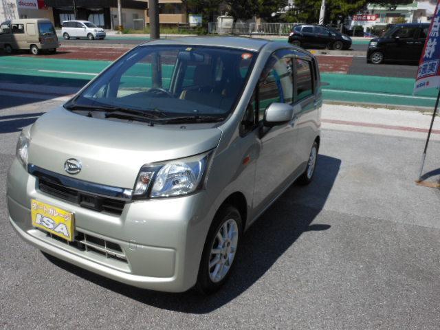 沖縄の中古車 ダイハツ ムーヴ 車両価格 58万円 リ済込 2013(平成25)年 7.7万km ライトゴールド