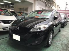 沖縄の中古車 マツダ プレマシー 車両価格 65万円 リ済込 平成23年 9.1万K ブラック