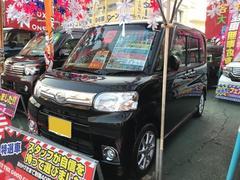 沖縄の中古車 ダイハツ タント 車両価格 64万円 リ済込 平成25年 9.1万K ブラック