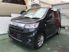 沖縄の中古車 スズキ ワゴンRスティングレー 車両価格 59万円 リ済込 平成25年 9.1万K グレーM