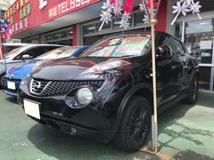 沖縄の中古車 日産 ジューク 車両価格 79万円 リ済込 平成24年 9.7万K ブラック