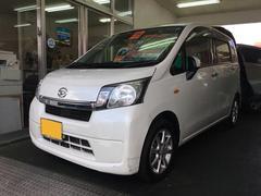 沖縄の中古車 ダイハツ ムーヴ 車両価格 59万円 リ済込 平成25年 8.1万K パールホワイト