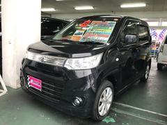 沖縄の中古車 スズキ ワゴンRスティングレー 車両価格 64万円 リ済込 平成25年 9.7万K ブラック