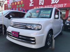 沖縄の中古車 日産 キューブ 車両価格 59万円 リ済込 平成25年 8.7万K パールホワイト