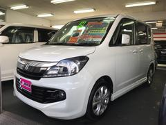 沖縄の中古車 スズキ ソリオバンディット 車両価格 59万円 リ済込 平成24年 10.0万K パールホワイト