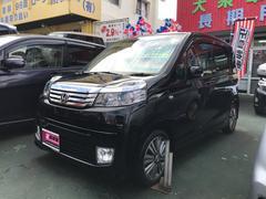 沖縄の中古車 ホンダ ライフ 車両価格 49万円 リ済込 平成23年 9.0万K ブラック