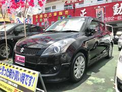 沖縄の中古車 スズキ スイフト 車両価格 59万円 リ済込 平成25年 9.6万K ブラック