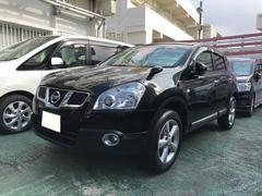 沖縄の中古車 日産 デュアリス 車両価格 99万円 リ済込 平成23年 8.6万K ブラック