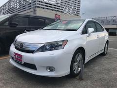 沖縄の中古車 レクサス HS 車両価格 119万円 リ済込 平成23年 9.4万K パールホワイト